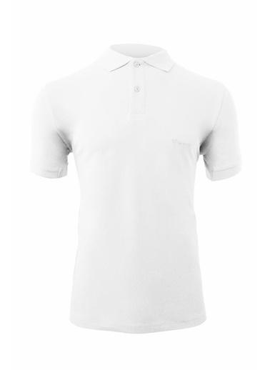 2AS  Terrace Polo Erkek T-Shirt Beyaz